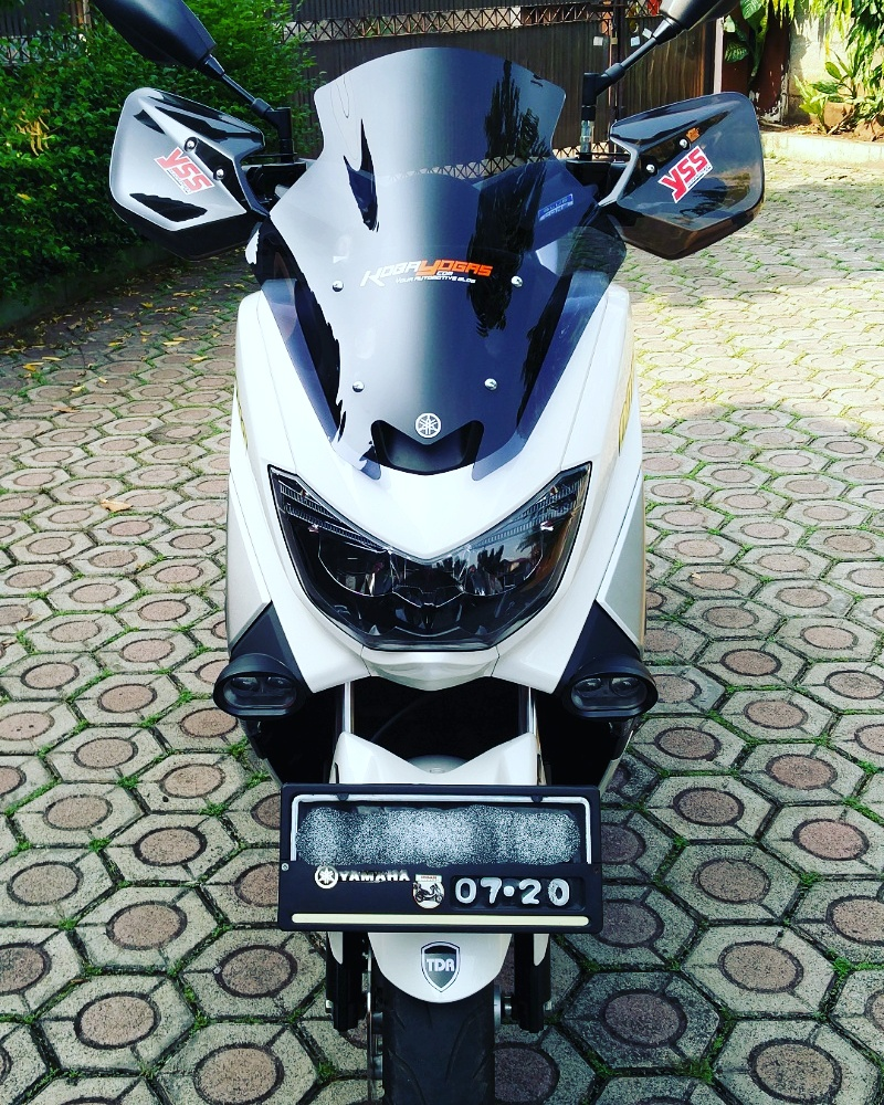 windshield dan hand guard NMax