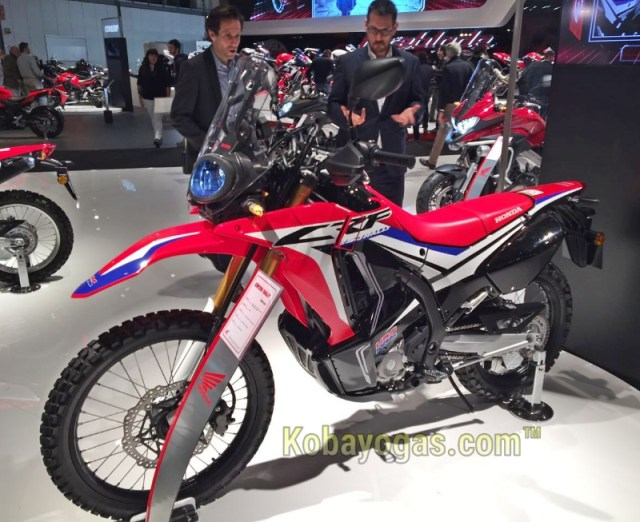Honda CRF250 rally 2017 eicma