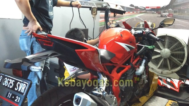 cbr250rr racing red dyno test