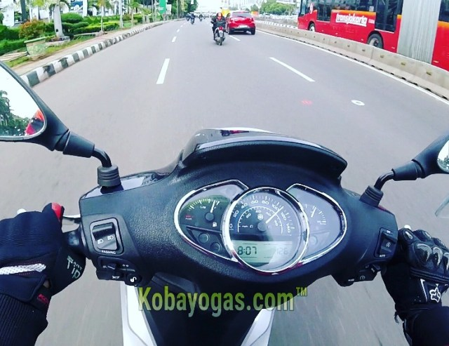 top speed Piaggio Medley ABS i-get Indonesia