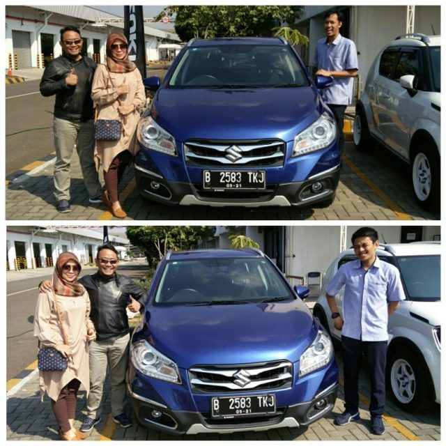 Suzuki SX4 S-Cross AT biru metalik
