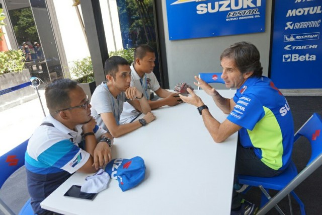 interview bersama Davide Brivio