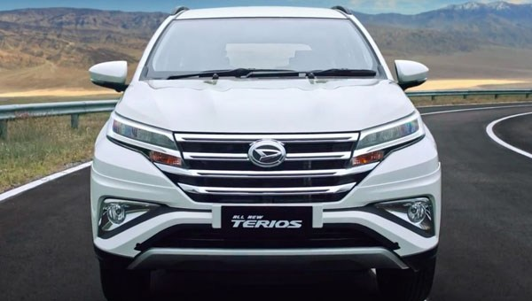 All New Terios 2018 front