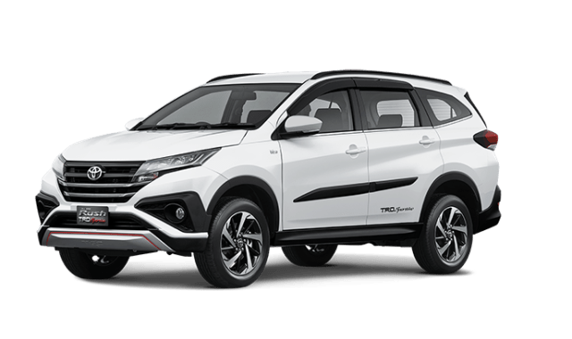 all new rush 2018 white TRD Sportivo