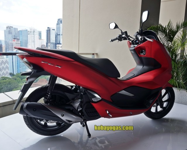 All New PCX 150 2018 Indonesia Merah