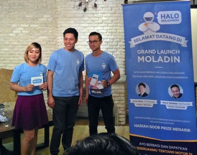 grand launching moladin indonesia