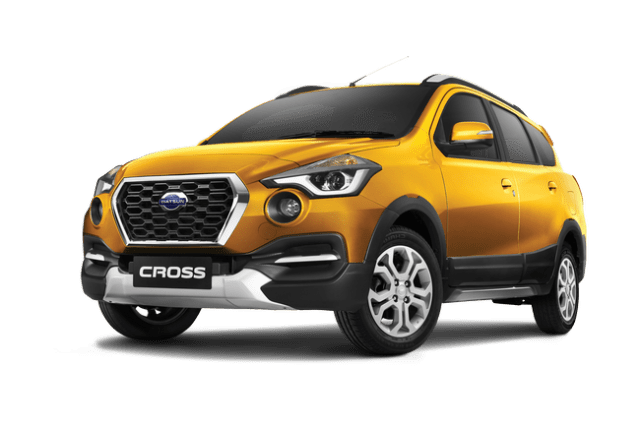 Datsun Cross 2018 Indonesia warna amber