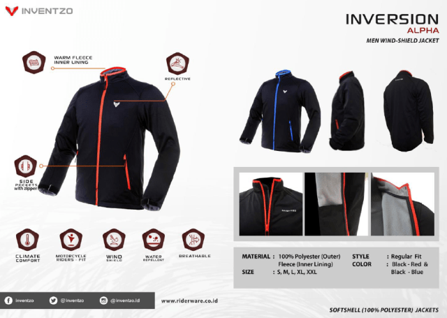 jaket inventzo inversion