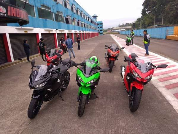 test top speed kawasaki ninja 250 2018