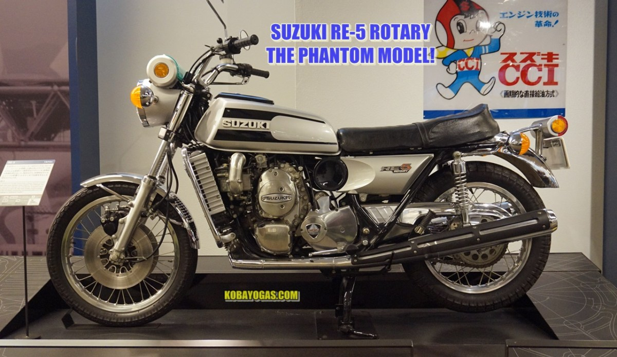 Legendary Bike - Suzuki RE-5 500 Mesin Rotary The Phantom Model!