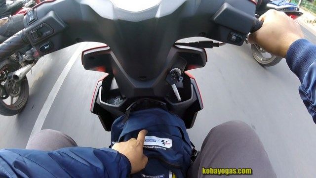 test ride suzuki nex ii 4