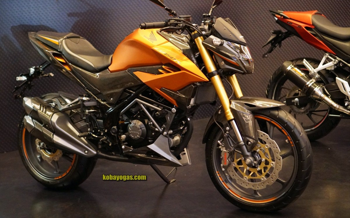 Modifikasi All New Honda CB150R 2018 Facelift Pakai Upside Down, Makin Mirip CB1000R!