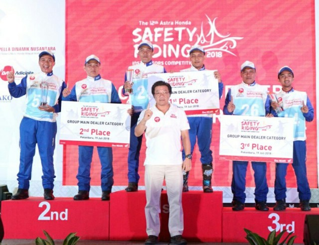 Daftar Pemenang Kompetisi Honda Safety Riding Instructor 2018 2