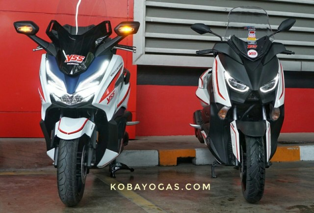 Review dan Test Ride Honda Forza 300 vs Yamaha Xmax 300 4