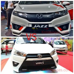 Toyota Yaris Trd Vs Honda Jazz Rs Grand New Avanza 2016 Type G Head To Gk5 Sang Nemesis Yasir