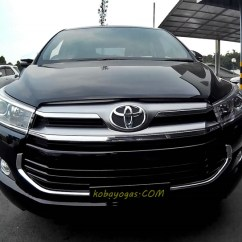 All New Kijang Innova Review Harga Toyota Yaris Trd Baru Video Blog Tipe Q 2 4 Diesel At 3