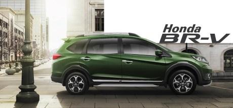 Honda BRV hijau