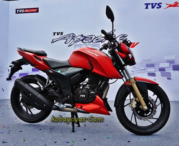 New TVS Apache RTR200 2