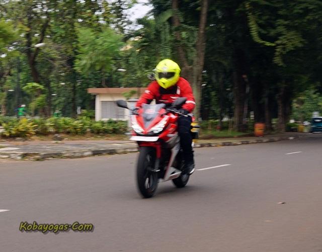 test ride all new cbr150r