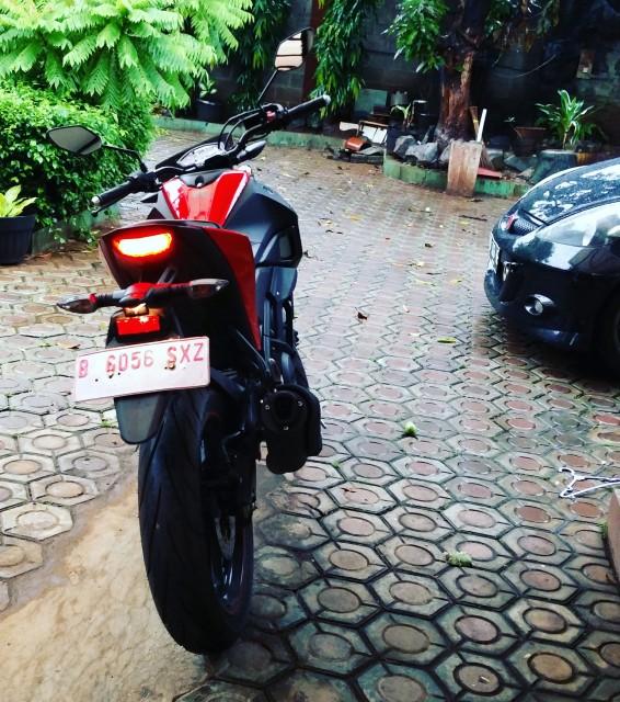 Yamaha Xabre Red