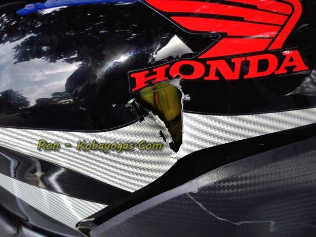 tangki Honda CBR 150R K45 tipis dan mudah sobek