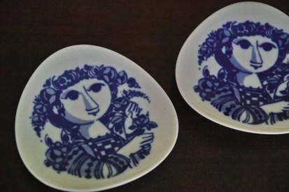 ドイツローゼンタールの小皿 5
