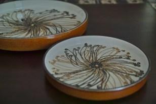 ロイヤルコペンハーゲン BACAバッカシリーズ Ellen Malmarエレン マルマーデザインの飾り皿 大小
