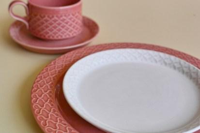 Jens.H.Quistgaard Cordialパターン ケーキプレート ホワイト 1