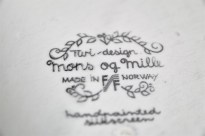 ノルウェーのFIGGJO社 多目的プレート Turi Gramstad Oliverデザインのmons og milleシリーズ 5