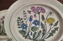 アラビア社 フローラ (Flora)シリーズ 25.5センチ 丸形大皿 1
