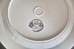 アラビア社 フローラ (Flora)シリーズ 25.5センチ 丸形大皿 3