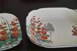 英国 1851年創業のburleigh ware 社製お皿のセット 2