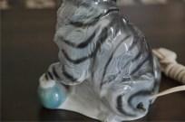 ドイツ製 魅惑のアロマランプ 縞猫 5