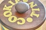米国 ランズバーグ社 RANSBURG クッキー缶 蓋は木製 6