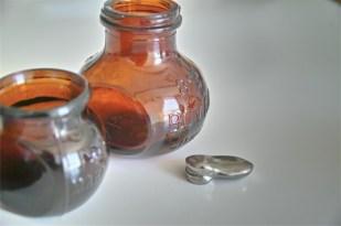 イギリスアンティーク BOVRIL瓶 4サイズで 11