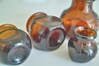 イギリスアンティーク BOVRIL瓶 4サイズで 5