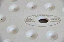 陶器の水切りトレー 英国 GRIMWADE社製 大きなサイズです。1