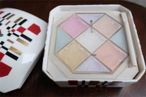 資生堂 SHISEIDO ノベルティ  椿会 1997年度 フェイスパウダー用 陶器製小物入れ 8
