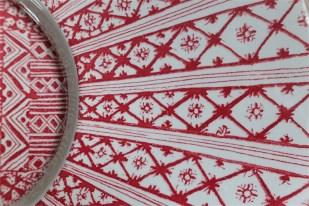 Bjørn (Bjorn) Wiinblad (ビョルン・ヴィンブラッドさん) 飾り皿 31㌢  デンマーク ニモール窯 Nymølle 3057-164 4