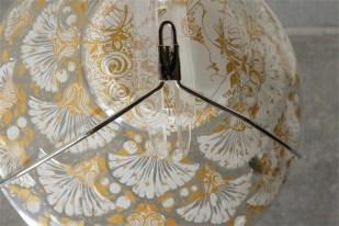 独1976年 ROSENTHAL(ローゼンタール社)製 ビョルン・ヴィンブラッドデザインのガラス飾り皿 3000枚限定 4