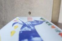 アンディ・ウォーホル (Andy Warhol)デザイン 独 ローゼンタール製 飾りプレート 青い馬柄