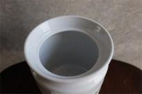 英国 キッチン雑貨 陶器製ジャー pearl barley 〔精白した大麦〕入れ