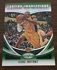 Kobe Bryant 2018-19 Certified Mirror Green Lasting Impressions #4/5 Lakers