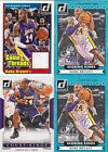 KOBE BRYANT 2014-15 DONRUSS GAME USED JERSEY SCORING KINGS LOT /199 LAKERS