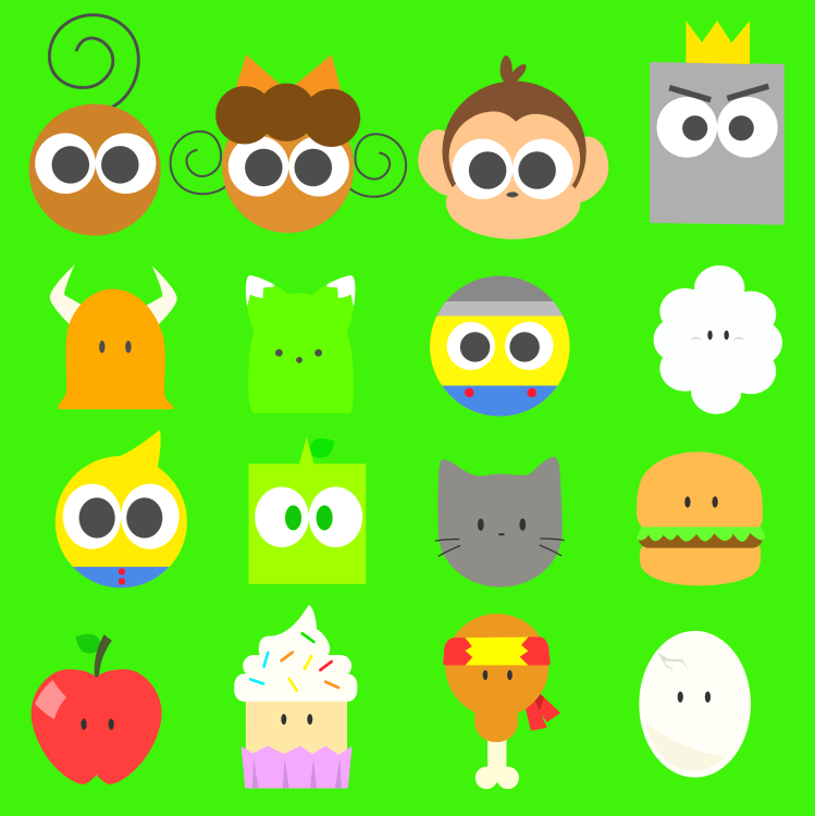 Character Wallpaper Icons