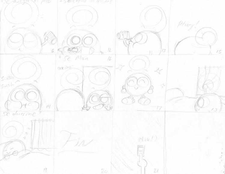 Manaña de Bobby Storyboard 2