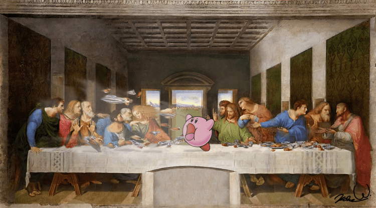 Kirby's Last Supper