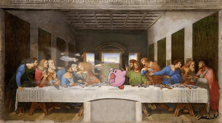 Kirby's Last Supper