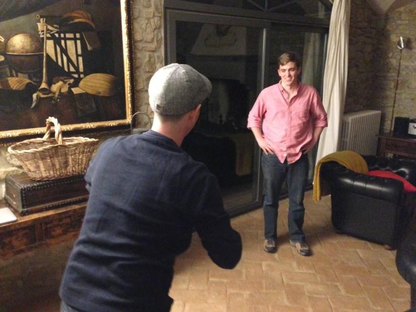 Ian challenging Cain.