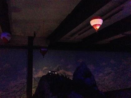 Hot-air baloons.